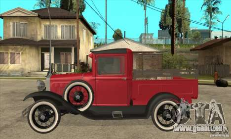 Ford Model A Pickup 1930 für GTA San Andreas linke Ansicht