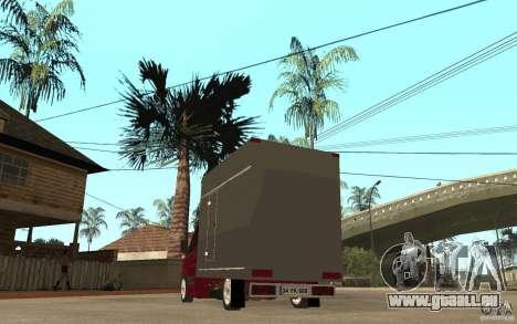 Volkswagen Crafter Case Closed für GTA San Andreas zurück linke Ansicht