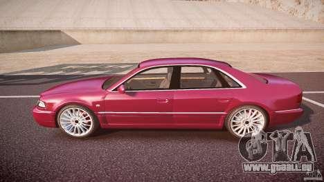 Audi A8 6.0 W12 Quattro (D2) 2002 pour GTA 4 est une gauche
