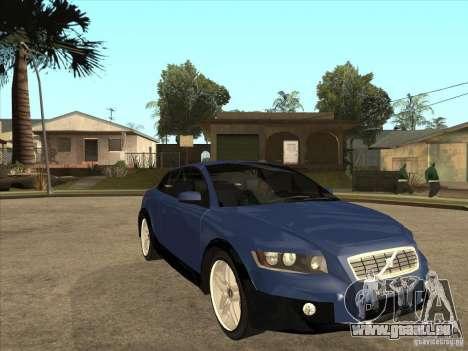 VOLVO C30 Sport 2009 pour GTA San Andreas vue arrière