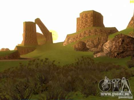 Without the desert für GTA San Andreas dritten Screenshot
