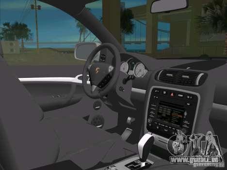 Porsche Cayenne Turbo S pour GTA Vice City vue latérale
