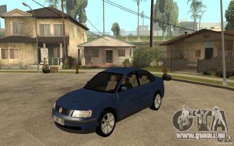 VW Passat B5 1.8T pour GTA San Andreas