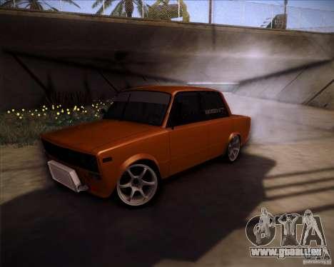 Dérive de VAZ 2106 pour GTA San Andreas