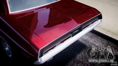 Dodge Challenger 1971 pour GTA 4 Vue arrière