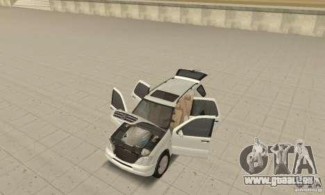 Mercedes-Benz ML 430 für GTA San Andreas Rückansicht