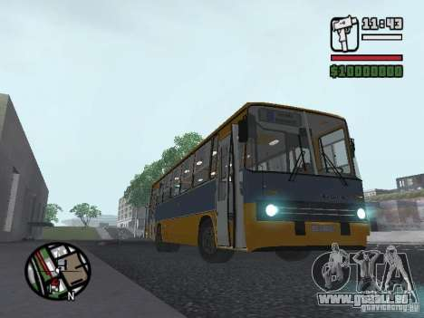 Ikarus 263 für GTA San Andreas rechten Ansicht