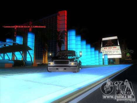 GMC C4500 Pickup DUB Style für GTA San Andreas obere Ansicht