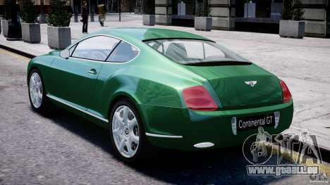 Bentley Continental GT für GTA 4 rechte Ansicht