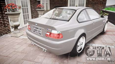 BMW M3 e46 v1.1 pour GTA 4 est un côté