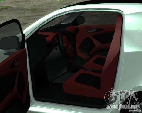 Aston Martin Cygnet für GTA San Andreas rechten Ansicht