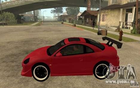 Mitsubishi Eclipse 2003 V1.0 pour GTA San Andreas laissé vue