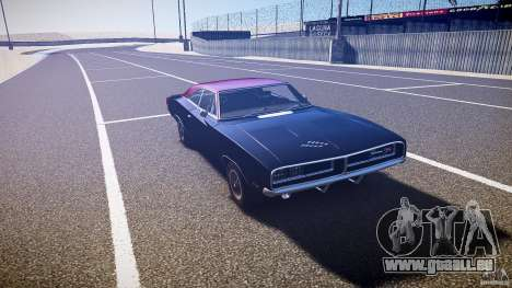 Dodge Charger RT 1969 v1.0 für GTA 4 Rückansicht