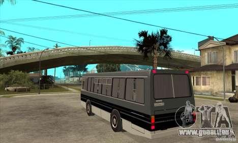 LAZ-4202 pour GTA San Andreas sur la vue arrière gauche