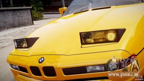 BMW 850i E31 1989-1994 für GTA 4-Motor