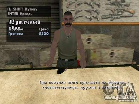 Pak-Inland-Waffen für GTA San Andreas neunten Screenshot