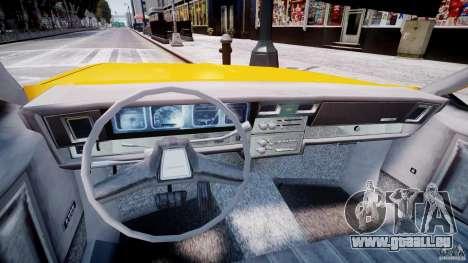 Chevrolet Impala Taxi 1983 [Final] pour GTA 4 Vue arrière