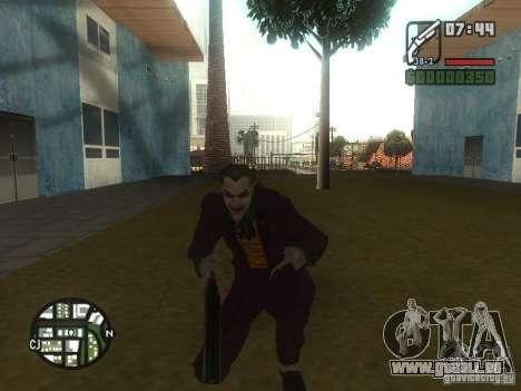 HQ Joker Skin für GTA San Andreas dritten Screenshot