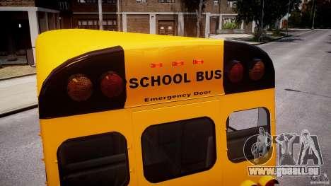 School Bus [Beta] pour GTA 4 roues