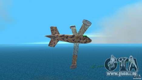 Conceptual Fighter Plane für GTA Vice City zurück linke Ansicht