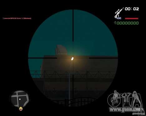 Sniper für GTA San Andreas her Screenshot