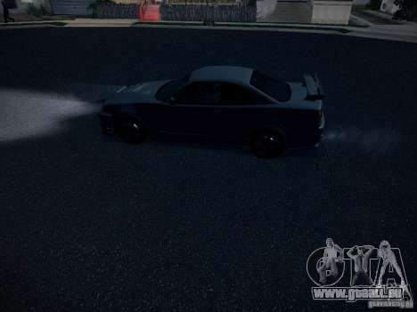 Nissan Skyline Z-Tune pour GTA San Andreas vue de côté