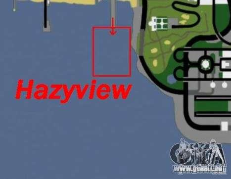 Hazyview pour GTA San Andreas quatrième écran