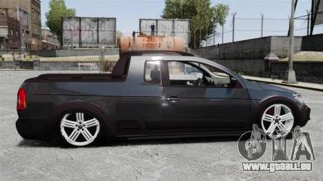 Volkswagen Saveiro Cross Edit für GTA 4 linke Ansicht
