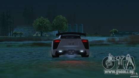 Improved Vehicle Features v2.0.2 (IVF) pour GTA San Andreas troisième écran