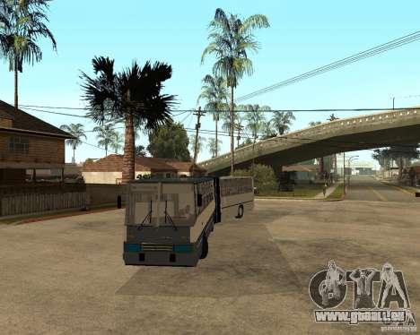 IKARUS 280 pour GTA San Andreas vue arrière