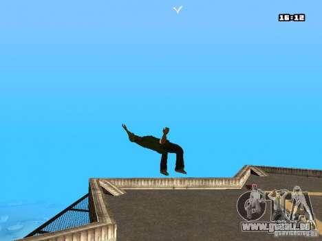 Parkour Mod für GTA San Andreas dritten Screenshot