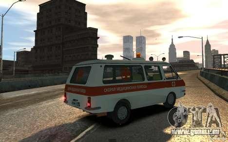 RAF 2203 Ambulance pour GTA 4 est une gauche