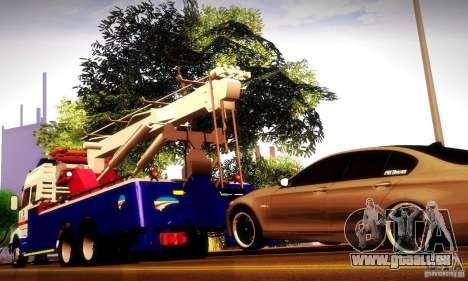 Volvo NH12 Towtruck für GTA San Andreas Innenansicht