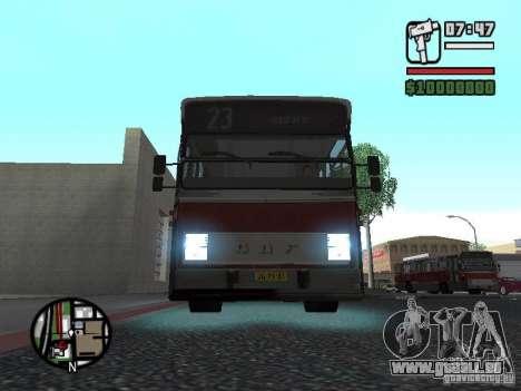 DAF CSA 1 City Bus pour GTA San Andreas laissé vue