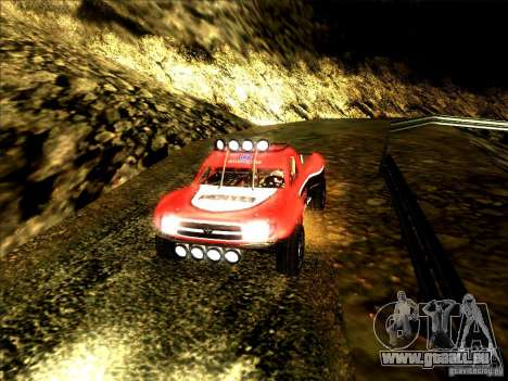 Toyota Tundra Rally pour GTA San Andreas