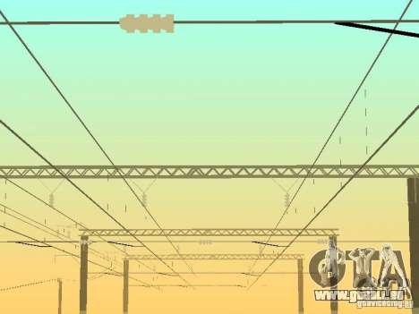 Prise en charge de réseau contact c. 2 pour GTA San Andreas troisième écran