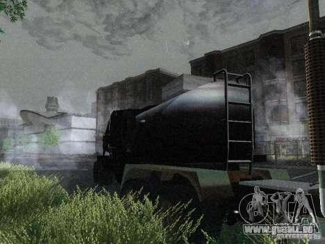 Anhänger gepanzerten Mack Fuel Truck Titan für GTA San Andreas