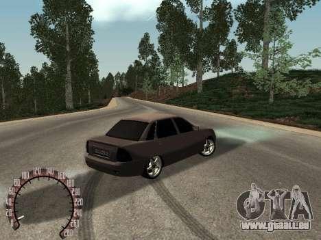 VAZ-2170 pour GTA San Andreas vue de droite