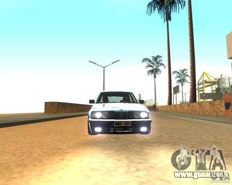 BMW 525i E34 für GTA San Andreas linke Ansicht