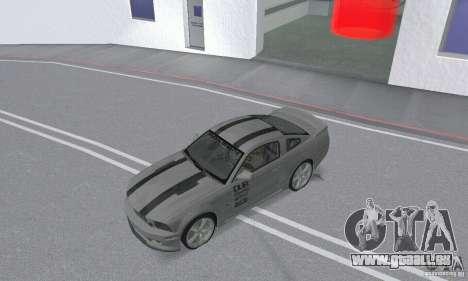 Saleen S281 Pack 2 pour GTA San Andreas vue arrière