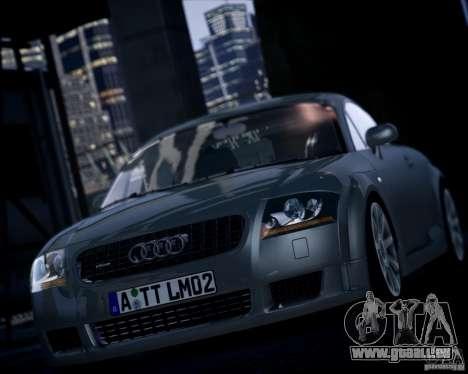 Audi TT 2004 pour GTA 4 Vue arrière de la gauche