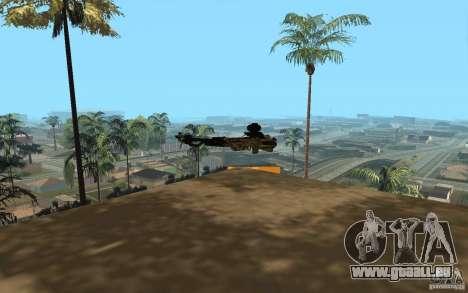 Arbalète pour GTA San Andreas quatrième écran