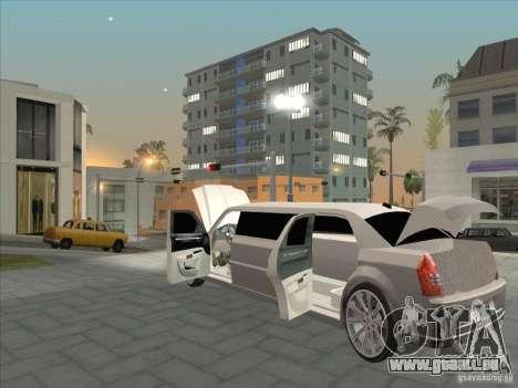 Chrysler 300C Limo für GTA San Andreas Seitenansicht