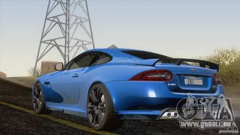Jaguar XKR-S 2011 V1.0 pour GTA San Andreas