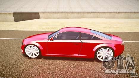 Audi Nuvollari Quattro pour GTA 4 Vue arrière de la gauche