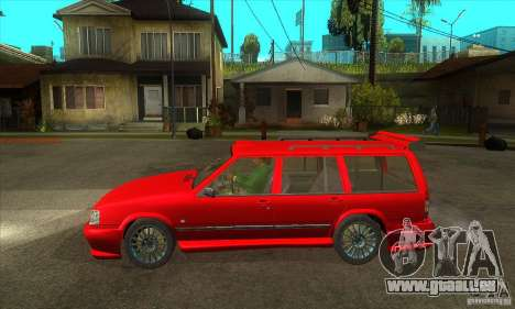 Volvo 945 Wentworth R with bodykit (1.2) für GTA San Andreas linke Ansicht
