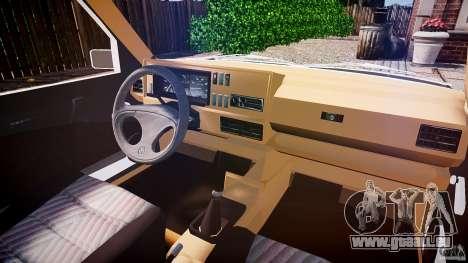 Volkswagen Jetta MKII VR6 pour GTA 4 est un droit