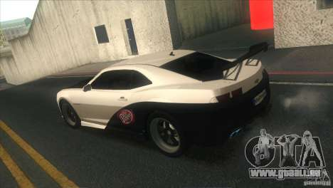 Chevrolet Camaro SS Dr Pepper Edition pour GTA San Andreas salon