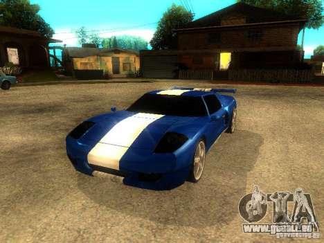 Bullet GT Drift für GTA San Andreas