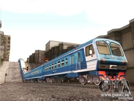 TrainCamFix pour GTA San Andreas deuxième écran
